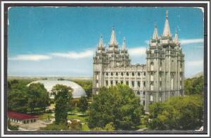 Utah, Salt Lake City Temple Square - [UT-017]