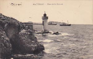France Marseilles Phare de la Desirade Lighthouse