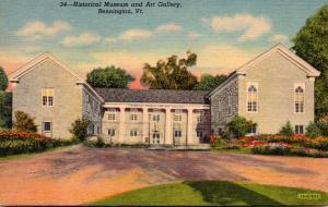 Vermont Bennington Historical Museum and Art Gallery Curteich