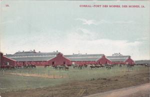 Iowa Des Moines Fort Des Moines Corral