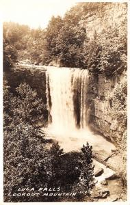 Chattanooga Tennessee~Where We Picnic~Lula Falls~Lookout Mountain~1920s RPPC