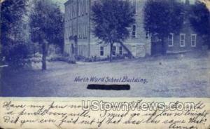 North Ward School Building North Ward IA 1910