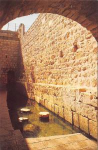 Israel Jerusalem pool of Silwan (Siloah)