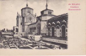 MILANO, Cimitero Mnumentale, Lombardia, Italy, 00-10s
