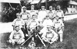 Closeout Reproduction Guam 1918 Baseball Team Unused