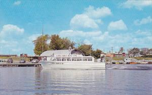 Long Sault Cruise Boat, LONG SAULT, Ontario, Canada, 40-60´s