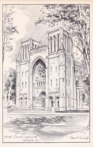 AS: Edward Goodall, Christ Church Cathedral, Victoria,  B.C., Canada,  1930s-50s