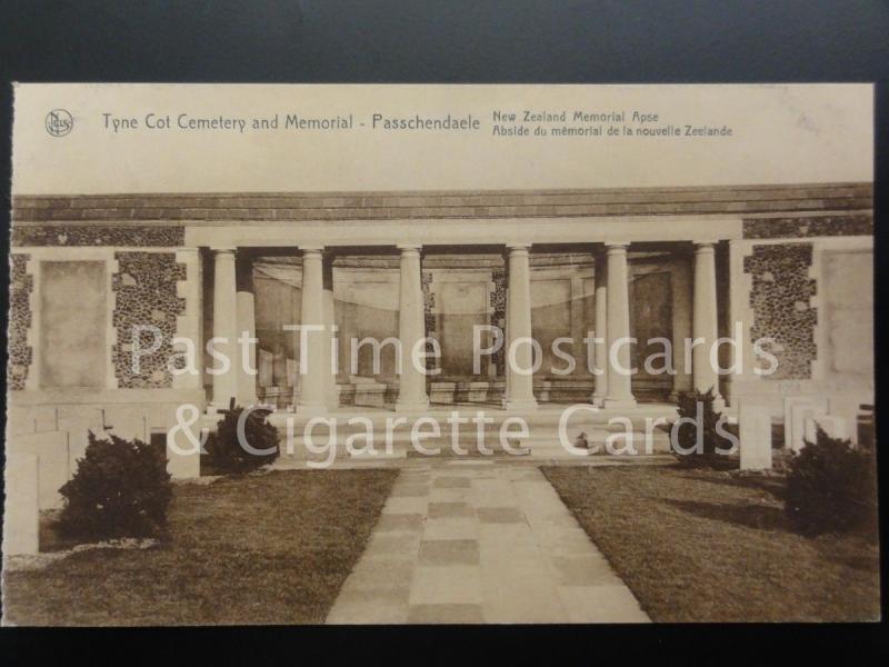c1930 Military Memorial: Passchendaele New Zealand Memorial, Tyne Cot Cemetery