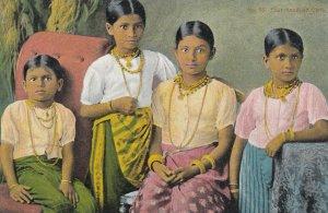 Four Kanduan Girls , CEYLON , 00-10s