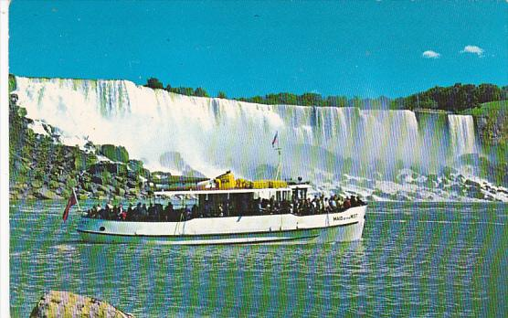 Canada Seeing Niagara Falls from Maid Of The Mist Ontario