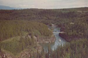 Miles Canyon Whitehorse Yukon Canada Canadian Postcard