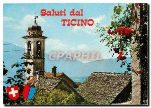 Postcard Modern Saluti dal Ticino