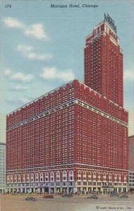 Illinois Chicago Morrison Hotel 1946