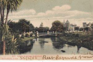 CHRISTCHURCH , New Zealand , 1906 ; Victoria Street Bridge