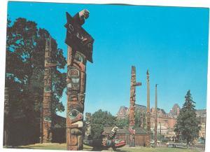 Thunderbird Park, Victoria, BC, Canada unused Postcard