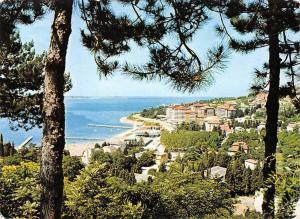 Slovenia Portoroz Beach Playa General view 1980