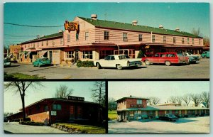 Des Moines IA~1960s Station Wagon Needs Car Wash~McNeal Motel @ 57th & Urbandale