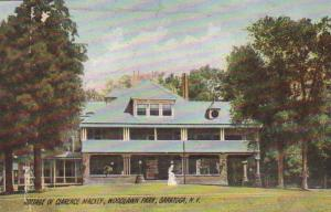 New York Saratoga Woodlawn Park Cottage Of Clarence Mackey 1911 Rotograph
