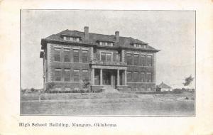 Mangum OK Quoins, Dormers & Columns on High School~1909 Ruffin of Green Ridge MO