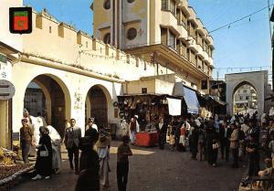 Morocco Tanger Calle de Italia Rue d'Italie