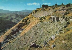 Pergamum The Ruines Of Theatre Turkey Postcard