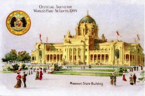 MO - St. Louis. 1904 World's Fair, Missouri State Building  (Reproduction)