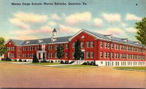 Virginia Quantico Marine Barracks Marine Corps Schools
