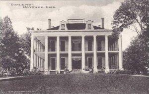 Mississippi Natchez Dunleth Albertype