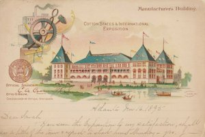 ATLANTA, Georgia, Cotton States & International Exposition 1895, Mfg Building