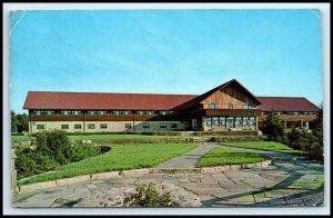 WEST VIRGINIA Postcard - Blackwater Lodge, Blackwater Falls State Park F12