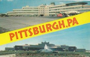 PITTSBURGH , Pennsylvania, 1950-1960s ; Split Views , Airport