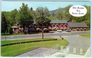 AVON, Connecticut  CT   Roadside  OLD FARMS INN  ca 1950s  Postcard
