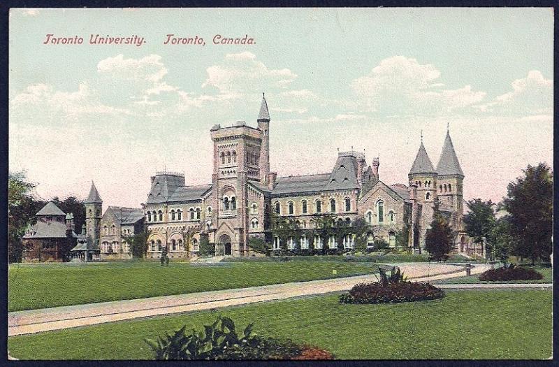 Toronto University Toronto Canada unused c1910