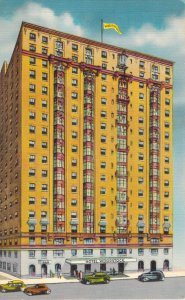 Hotel Woodstock 43rd Street at Times Square New York City NY Old Cars