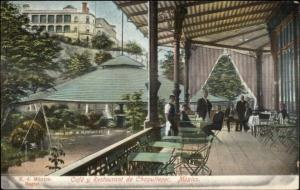 Chapultepec Mexico Restaurant c1905 Postcard #2
