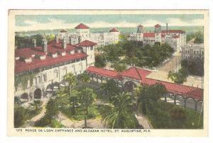 Ponce De Leon Entrance & Alcazar Hotel, St. Augustine, Florida, 1910-1920s