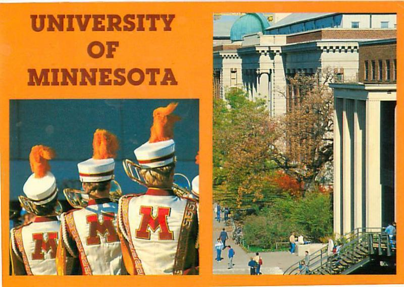 University of Minnesota College Marching Band Banks of Miss
