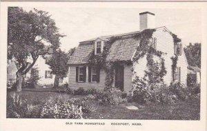 Massachusetts Rockport Old Tarr Homestead Albertype