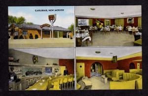 NM Silver Spur Restaurant CARLSBAD NEW MEXICO Linen PC