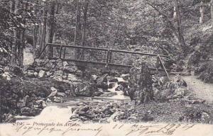Belgium Spa Promenad des Artistes 1904