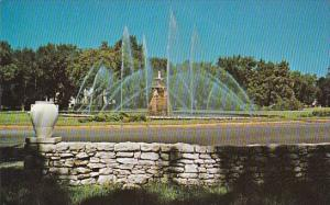 The Meyer Circle Fountain Ward Parkway And Meyer Boulevard Kansas City Missouri