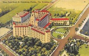 Vinoy Park Hotel Sunshine City St Petersburg FL