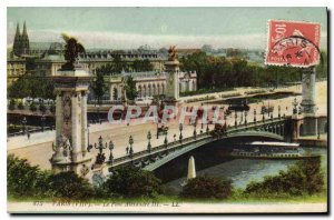 Postcard Old Paris VIII Pont Alexandre III