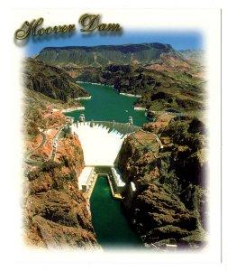 5 X 6 inch,  Hoover Dam, Colorado River, Nevada, William Carr