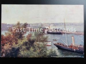 Dorset WEYMOUTH Early General View from Nothe c1912 by Raphael Tuck 6213