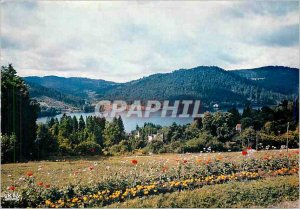 Modern Postcard Gerardmer Vosges Picturesque Lake to Ramberchamp