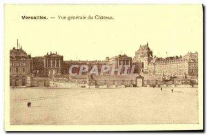 Old Postcard Versailles Vue Generale du Chateau