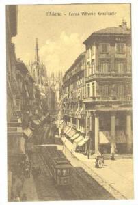 Milano - Corso Vittorio Emanuele , ITALY , 00-10s
