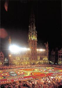 Belgium Bruxelles Grand Place, Tapis de Fleurs Market Place Flower Carpet