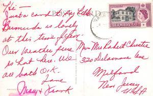 Ocean Monarch, Bermuda, Early Postcard, Used